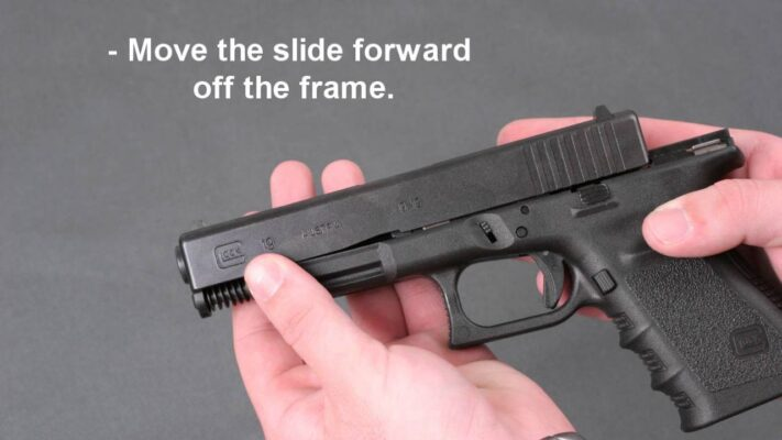 how to disassemble a glock
